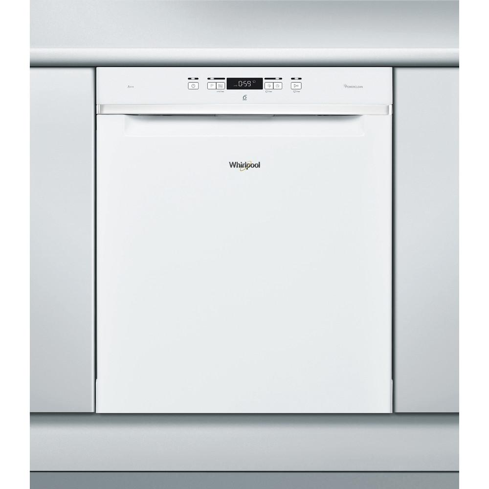 Whirlpool diskmaskin: färg vit, 60 cm - WUC 3T123 PF