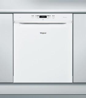 Whirlpool-opvaskemaskine: hvid farve, fuld størrelse - WUC 3T123 PF