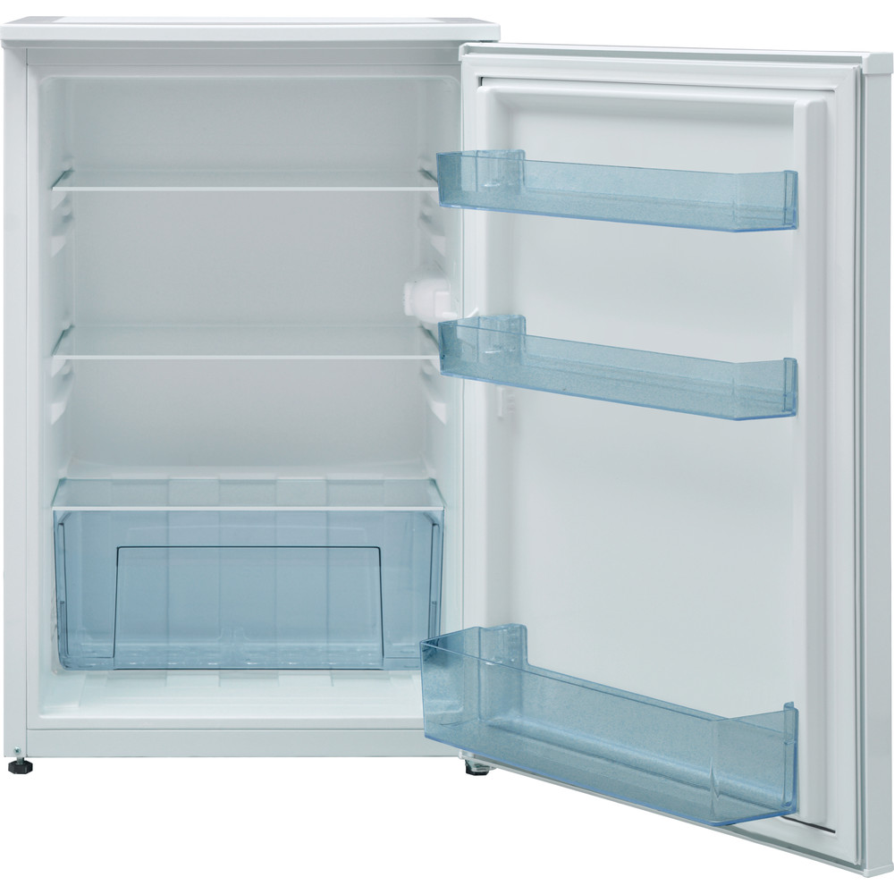 Indesit Refrigerator Free-standing I55RM 1110 W 1 White Frontal open