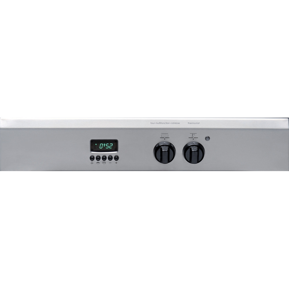 Indesit Cuisinière I63I 6C6A.T(X)/FR Inox Electrique Control panel