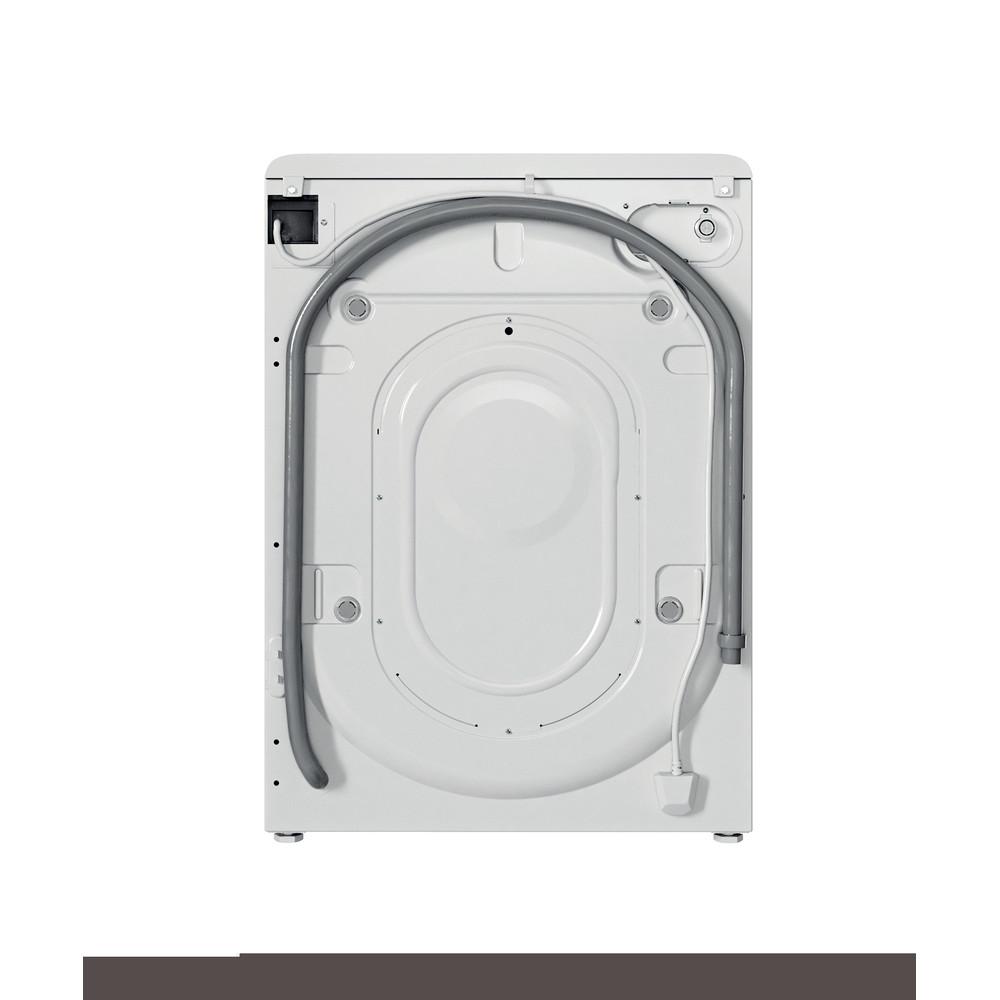 Indesit Lavabiancheria A libera installazione BWSA 61251 W IT N Bianco Carica frontale F Back / Lateral