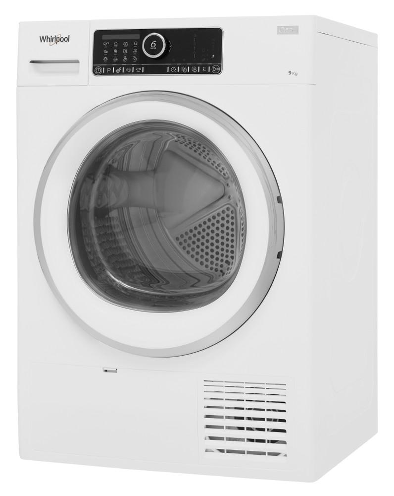 Whirlpool Dryer ST U 92X EU Bela Perspective