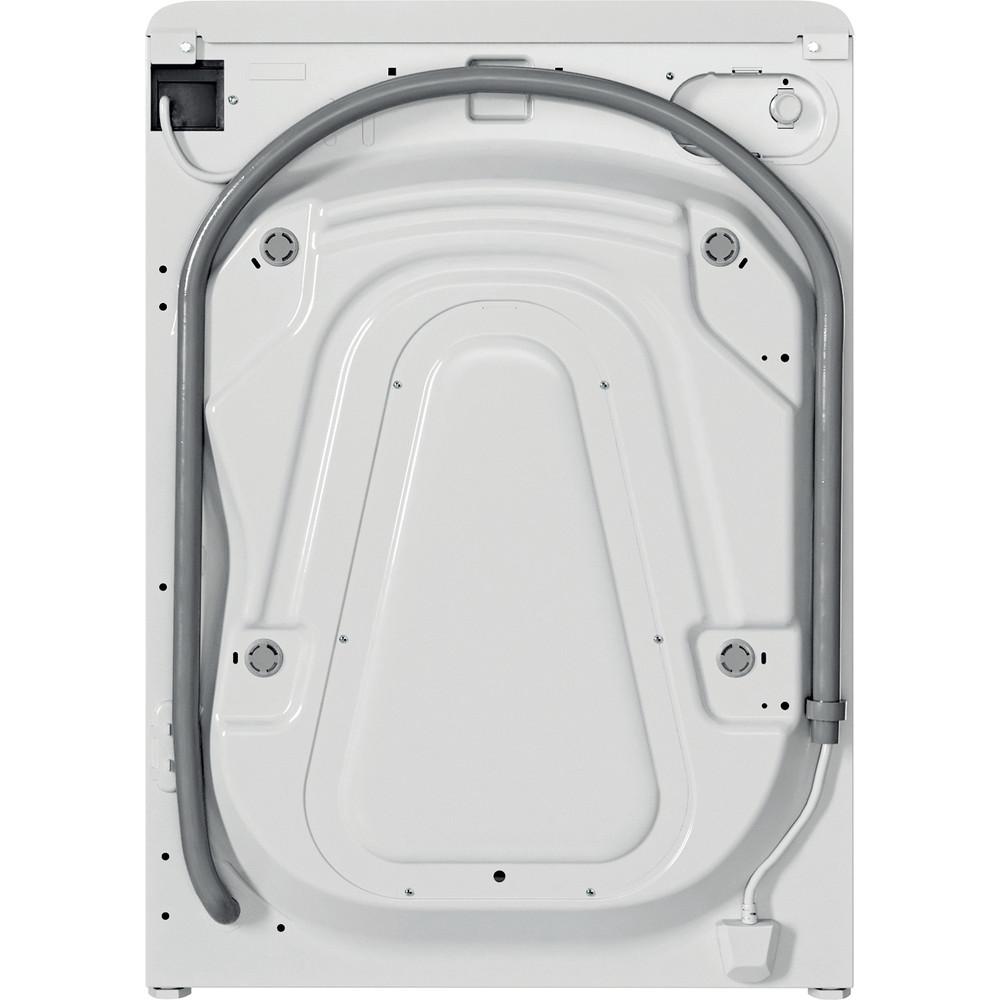 Indesit Mašina za veš Samostojeći BWE 81484X WS EE N Bijela Front loader A+++ Back / Lateral