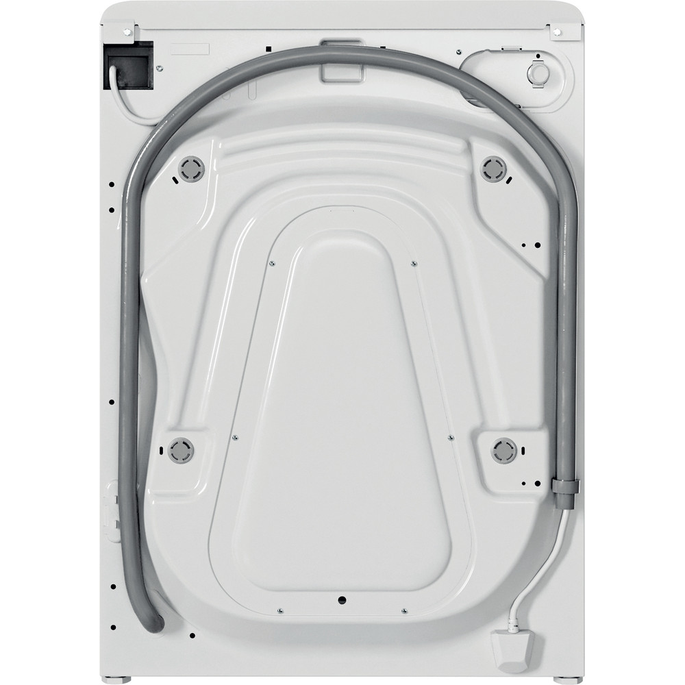 Indesit Tvättmaskin Fristående BWE 81484X WS EE N White Front loader C Back / Lateral