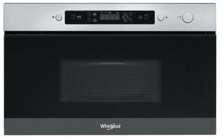 Whirlpool vgradna mikrovalovna pečica: Inox barva - AMW 4910/IX