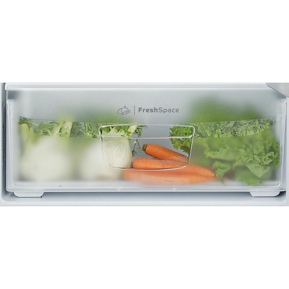 Indesit Combinazione Frigorifero/Congelatore A libera installazione TIAA 10 V.1 Bianco 2 porte Drawer