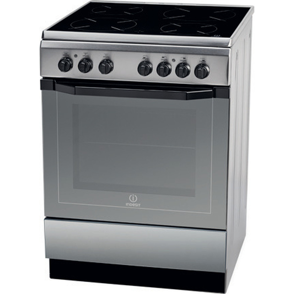 Indesit Κουζίνα I6VMH2A(X)/GR Inox Electrical Perspective