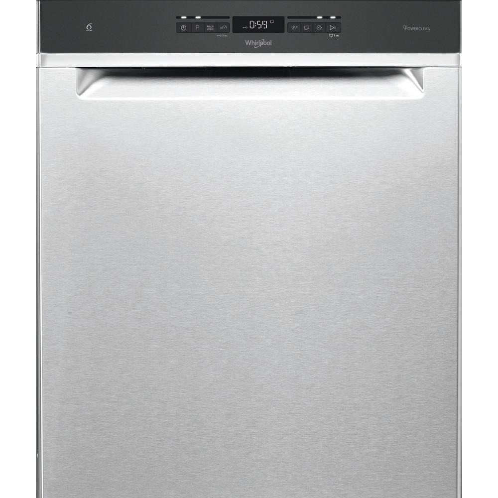 Whirlpool oppvaskmaskin: farge stål, 60 cm - WUO 3O41 PLG X