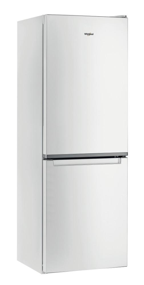 Whirlpool Комбиниран хладилник с камера Свободностоящи W5 711E W 1 Глобално бяло 2 врати Perspective