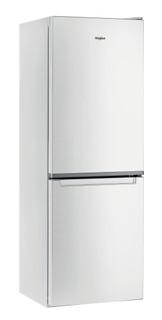 Свободностоящ комбиниран хладилник с фризер Whirlpool - W5 711E W 1
