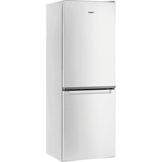 Whirlpool Kombinētais ledusskapis/saldētava Brīvi stāvošs W5 711E W 1 Spilgti balta 2 doors Perspective