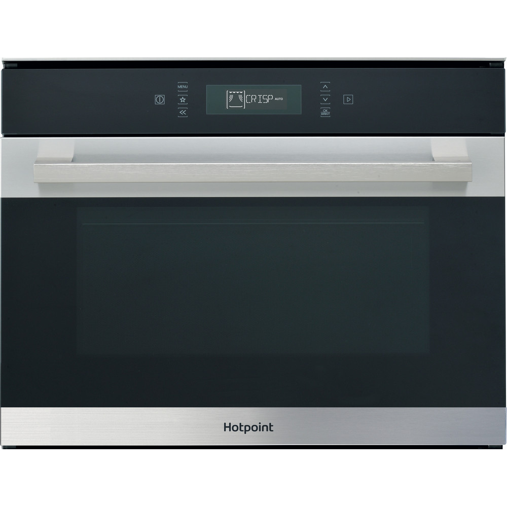 Hotpoint Microwave Built-in MP 776 IX H Inox Electronic 40 MW-Combi 900 Frontal