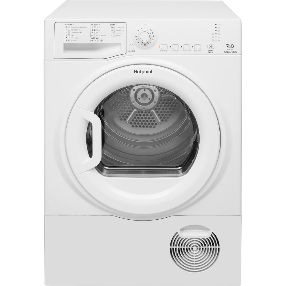 Hotpoint Dryer TCFS 73B GP.9 (UK) White Frontal