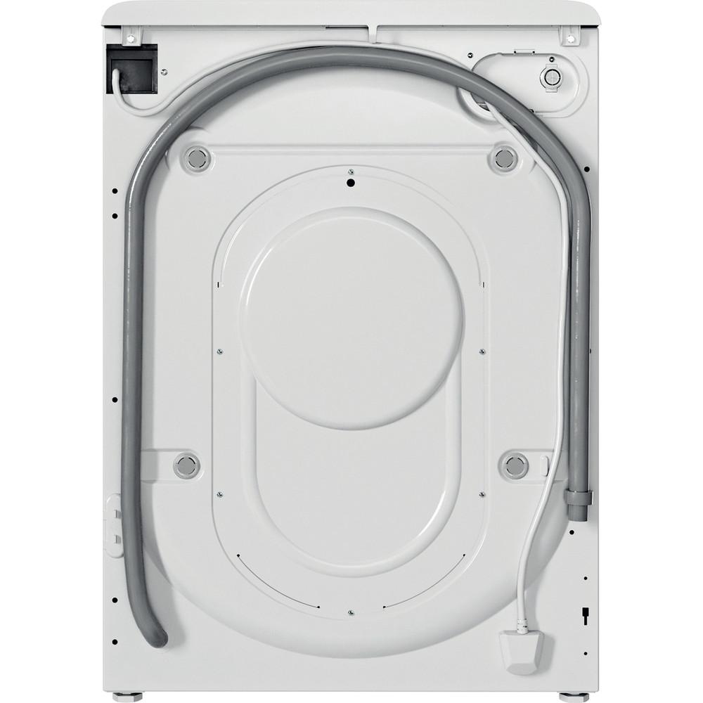 Indesit Lavabiancheria A libera installazione BWE 101483X WS IT N Bianco Carica frontale D Back / Lateral