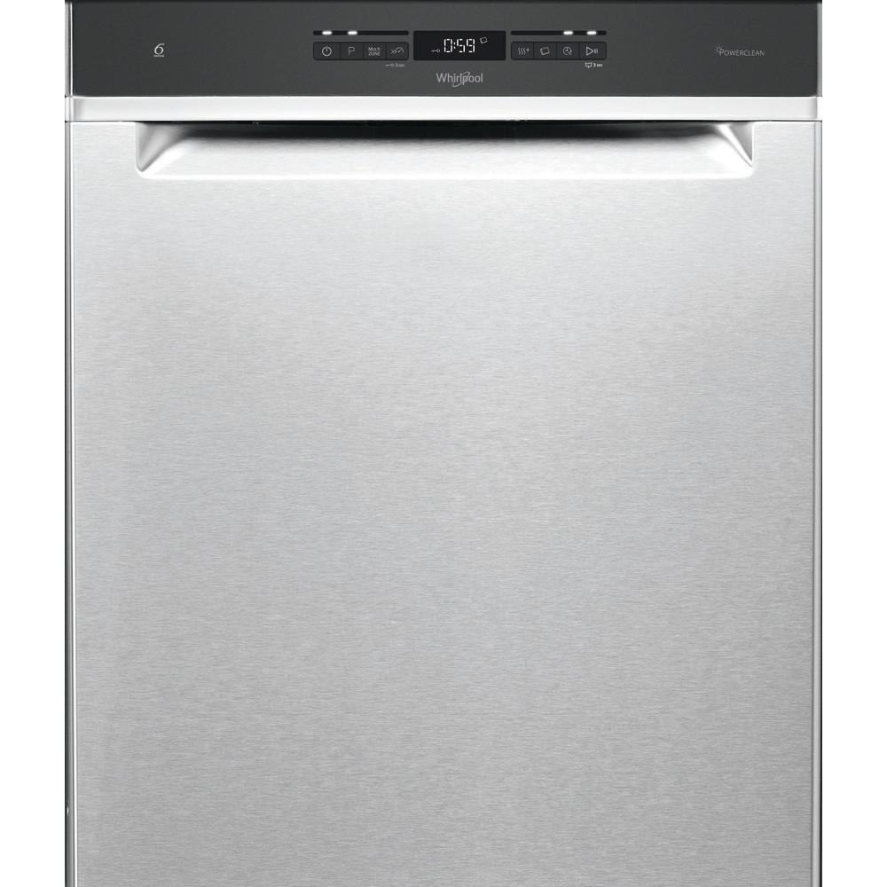Whirlpool oppvaskmaskin: farge stål, 60 cm - WUO 3T141 P X