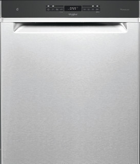 Whirlpool-opvaskemaskine: inox-farve, fuld størrelse - WUO 3T141 P X
