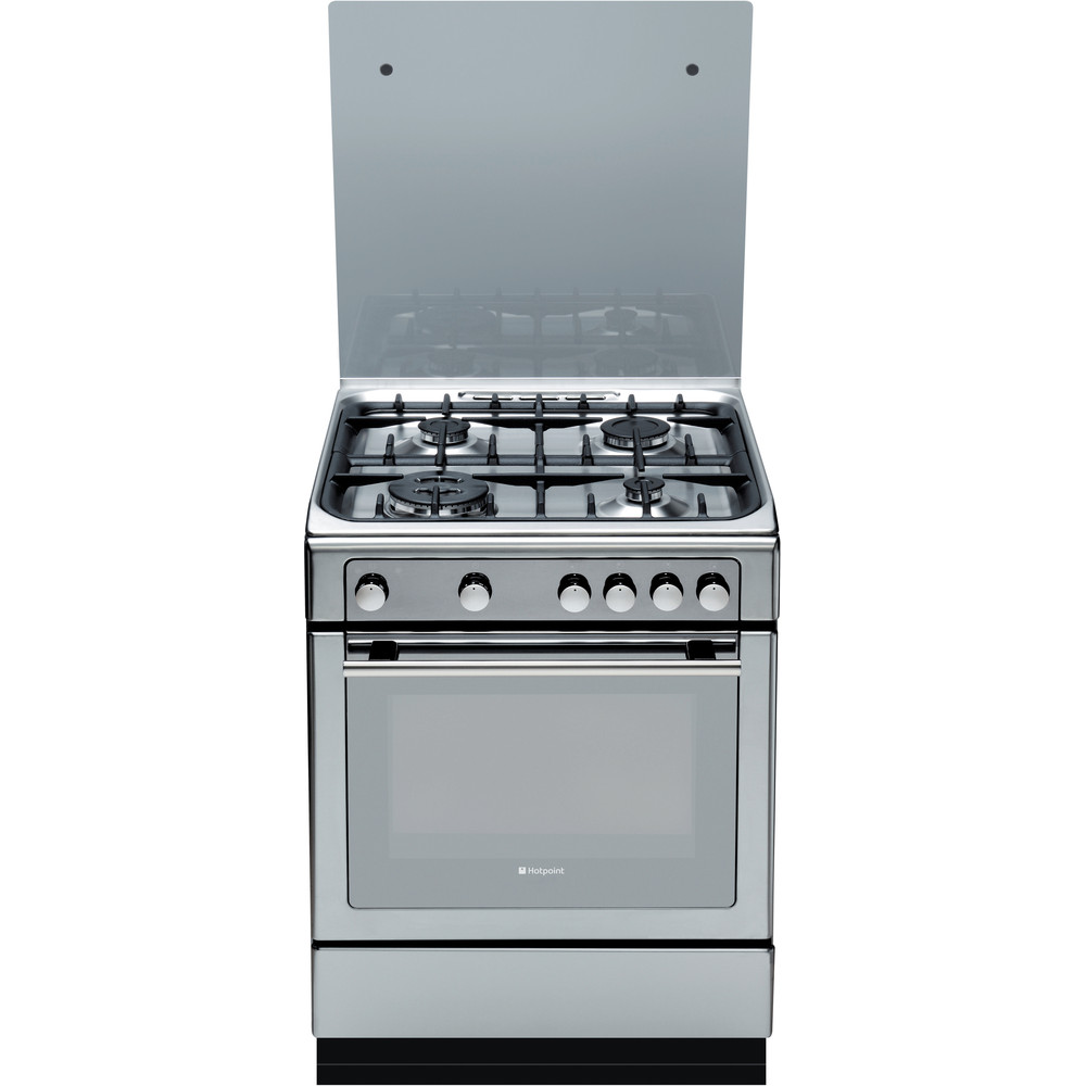 Hotpoint Cooker DHG65SG1CX Inox Frontal