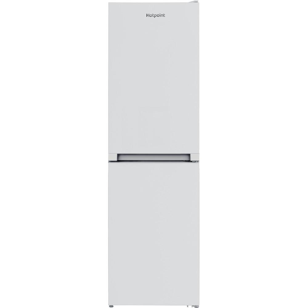 Hotpoint Fridge Freezer Free-standing HBNF 55181 W UK 1 White 2 doors Frontal