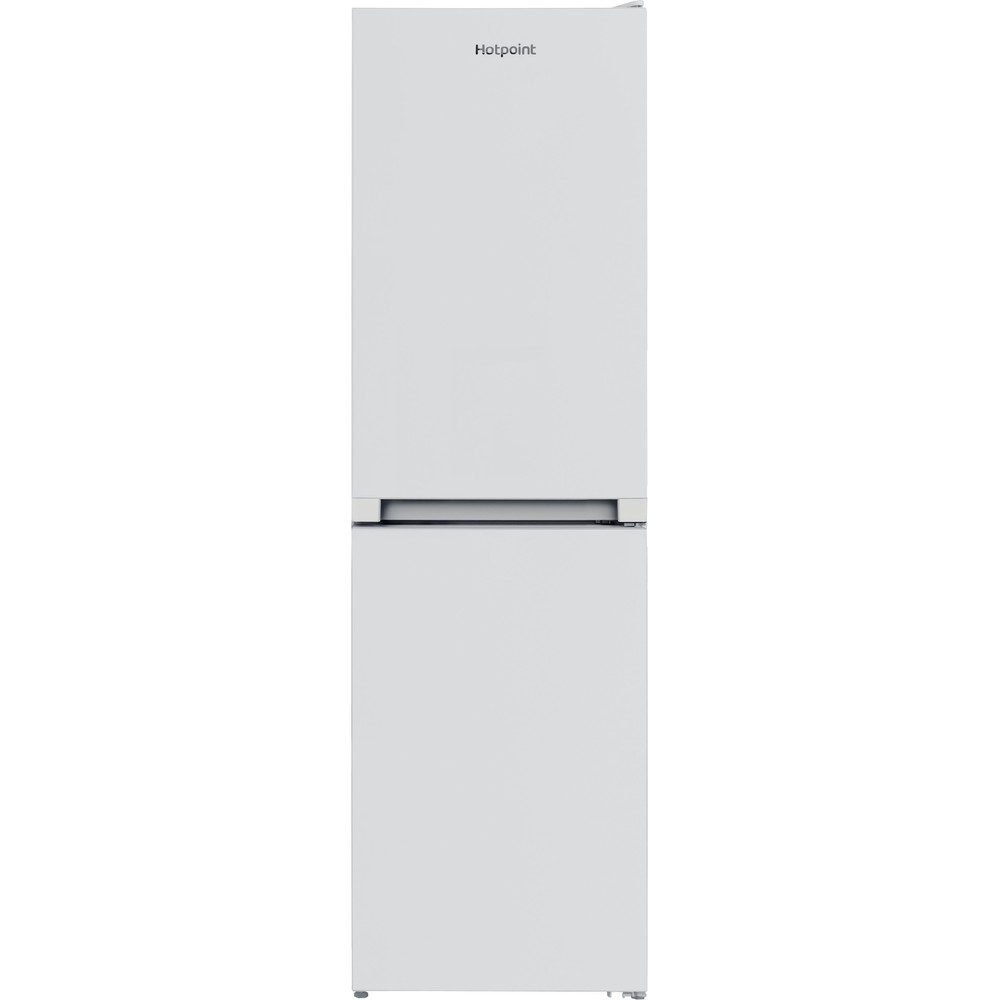Hotpoint Fridge-Freezer Combination Free-standing HBNF 55181 W UK 1 White 2 doors Frontal
