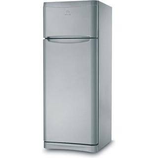 Indesit Комбиниран хладилник с камера Свободностоящи TAA 5 S Сребрист 2 врати Perspective