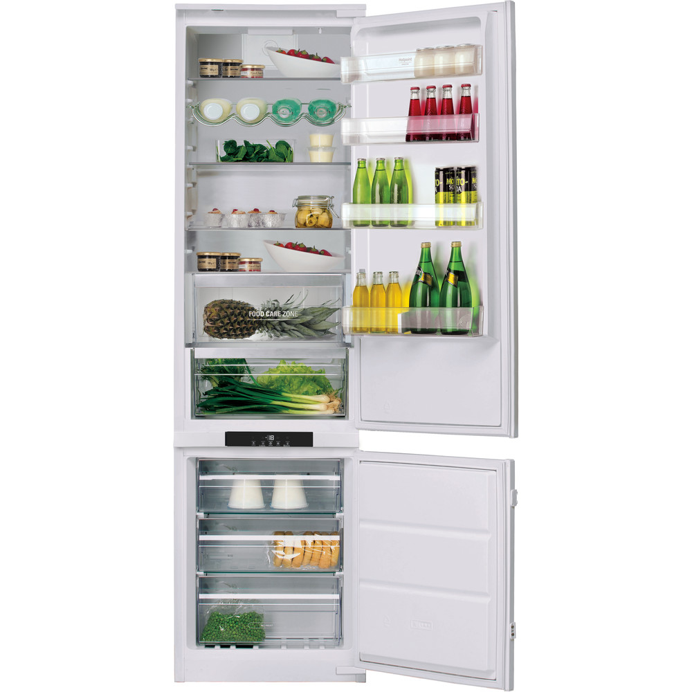 Hotpoint Fridge Freezer Built-in BCB 8020 AA FC 0 White 2 doors Frontal open