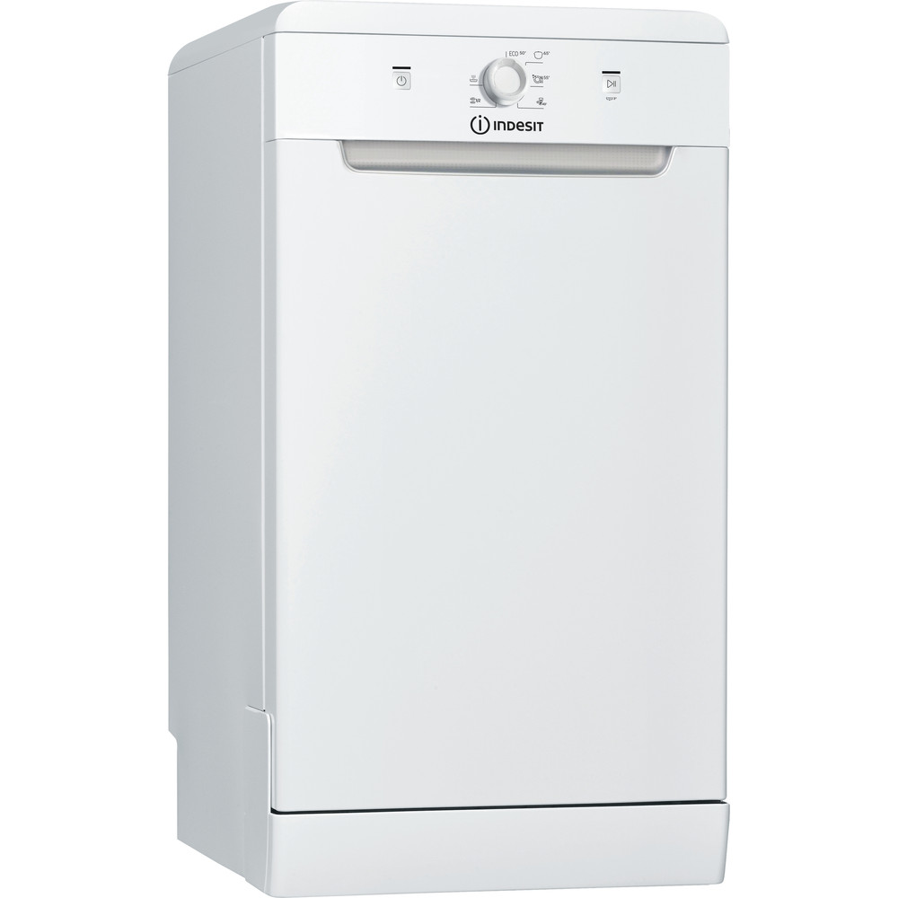 Indesit Dishwasher Free-standing DSFE 1B10 UK N Free-standing F Perspective