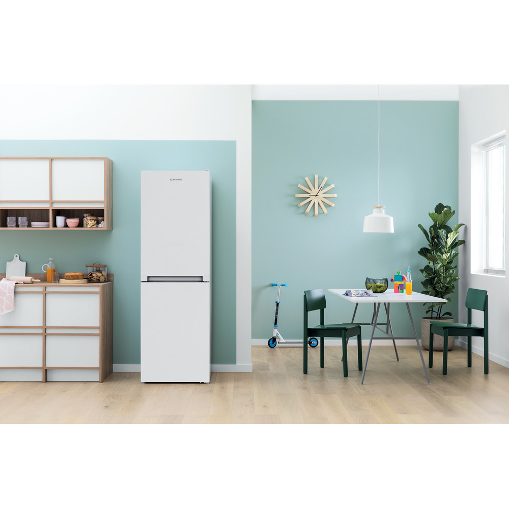 Indesit Fridge Freezer Free-standing IBNF 55181 W UK 1 White 2 doors Lifestyle frontal