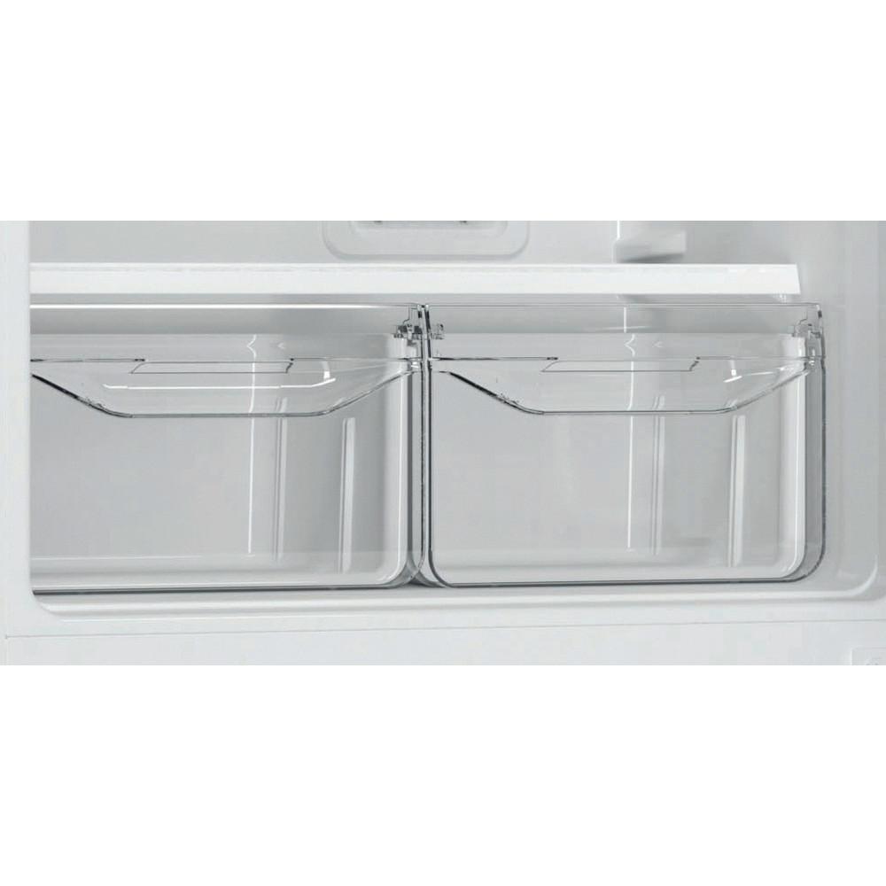 Indesit Холодильник с морозильной камерой Отдельностоящий EF 18 Белый 2 doors Drawer