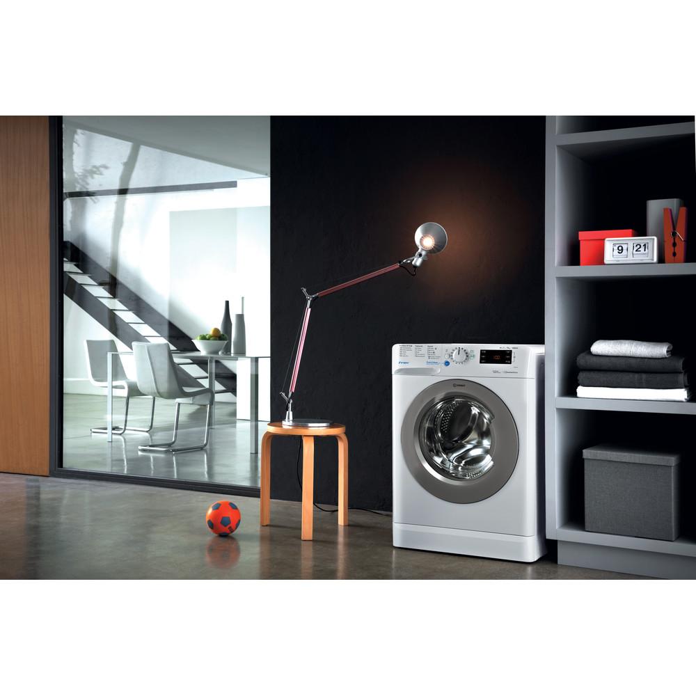 Indesit Lavabiancheria A libera installazione BWE 91284X WSSS IT Bianco Carica frontale A+++ Lifestyle_Perspective