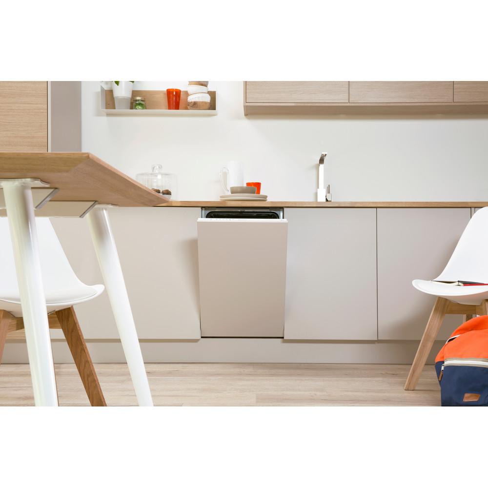 Indesit Посудомийна машина Вбудований (-а) DISR 14B EU Вбудована A Lifestyle frontal