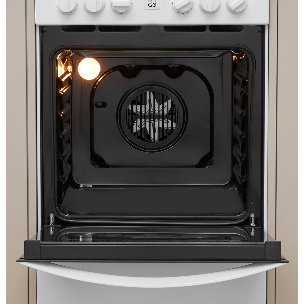 Indesit Plīts IS5V8GMW/E Balts Electrical Cavity