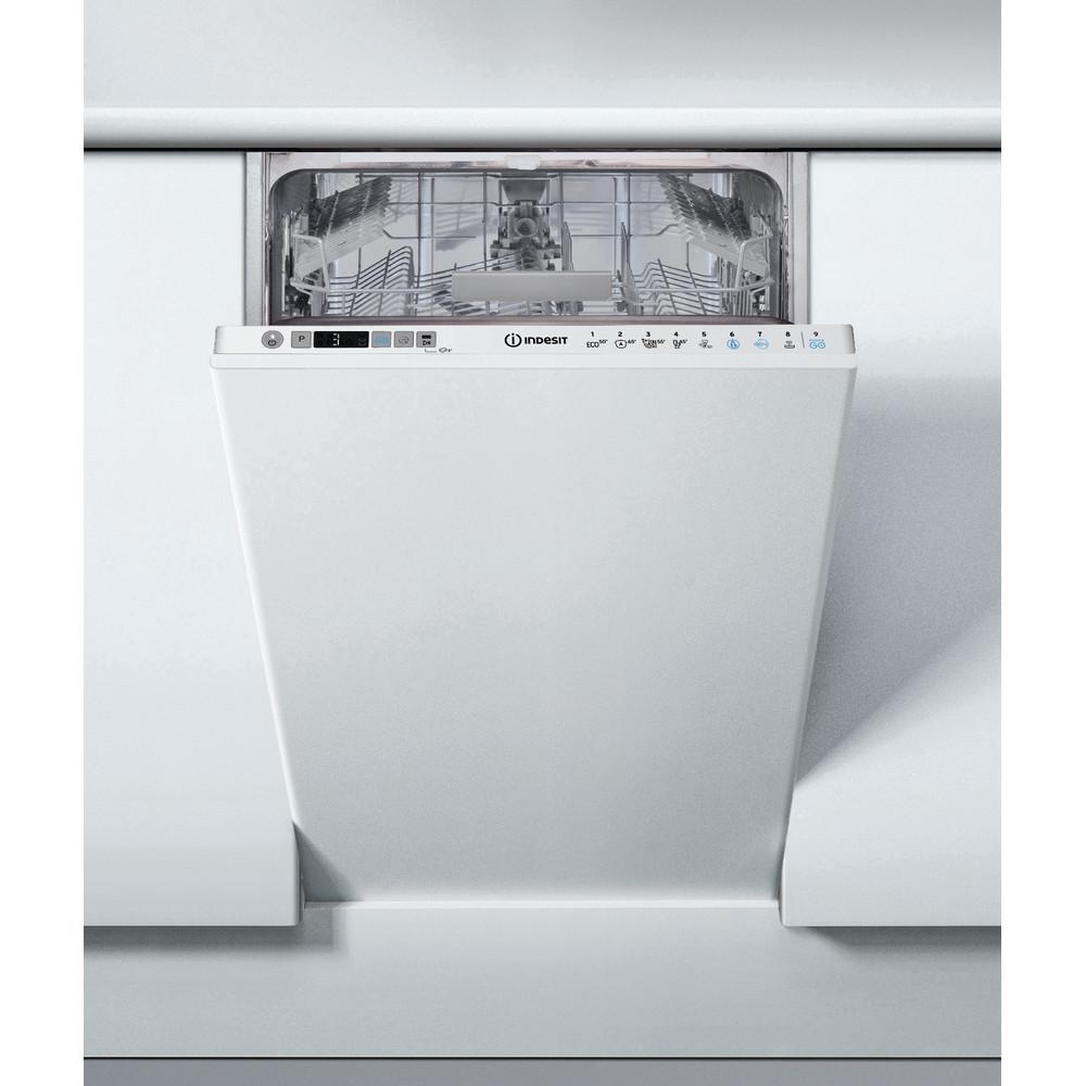 Indesit Посудомоечная машина Встраиваемый DSIC 3T117 Z Full-integrated A Lifestyle frontal