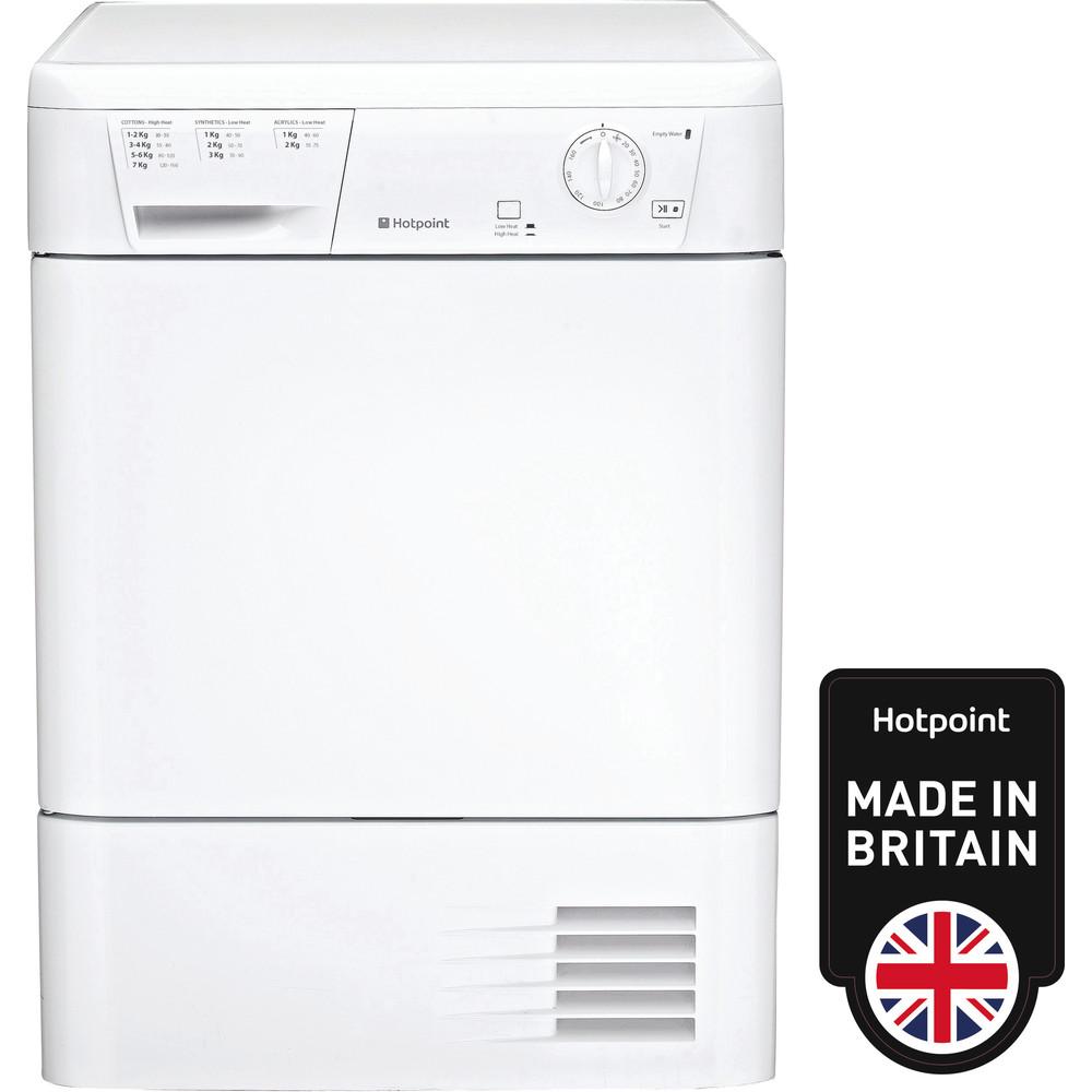 Hotpoint Dryer FETC 70B P (UK) White Frontal
