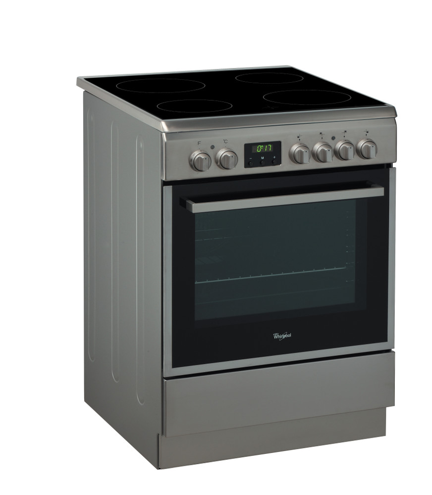 Whirlpool Cooker ACMT 6533/IX/2 Inox/Black Electrical Perspective