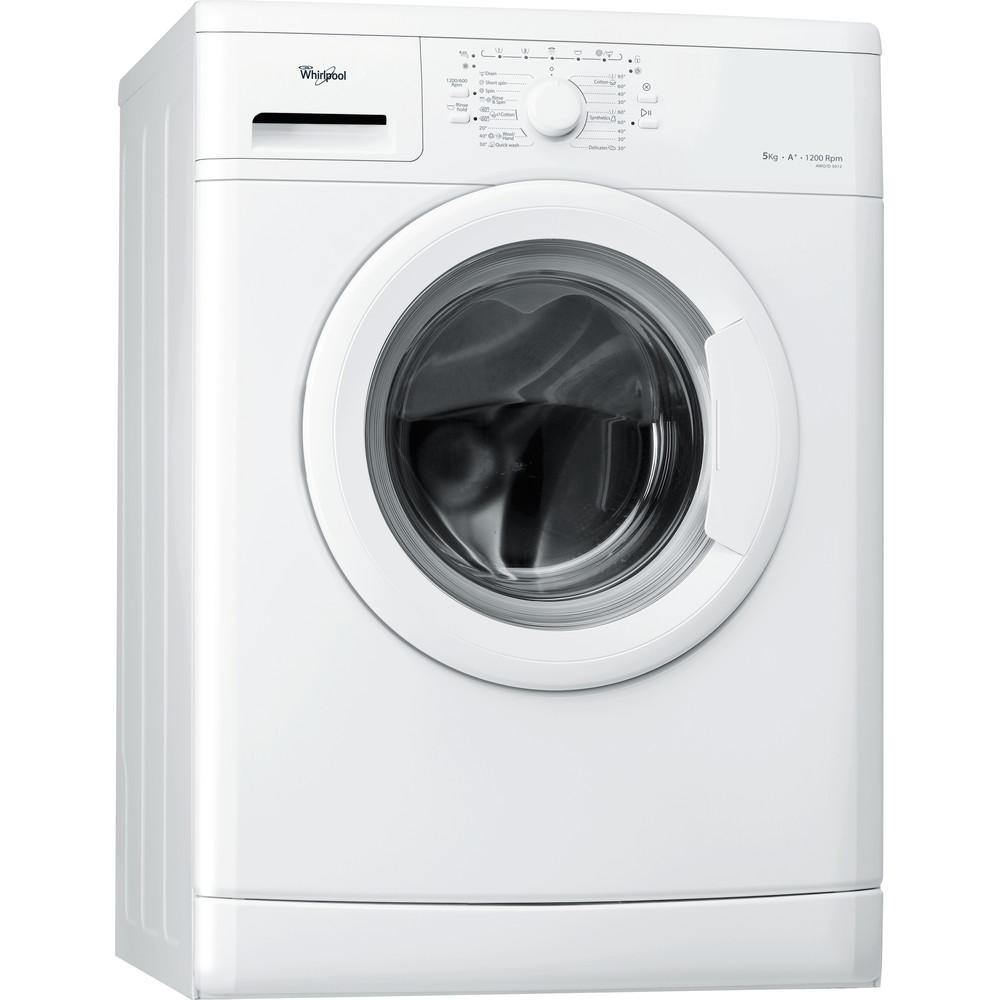 Whirlpool frontmatad tvättmaskin: 5 kg - AWO/D 5012