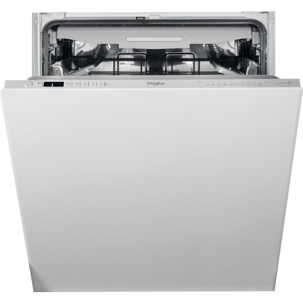 Whirlpool integrerad diskmaskin: färg silver, 60 cm - WKCIO 3T133 PFE
