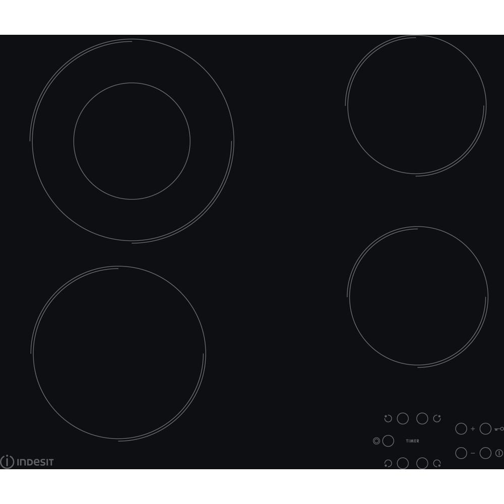 Indesit Ploča za kuhanje RI 260 C Crna Radiant vitroceramic Frontal