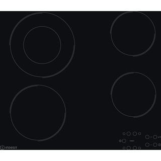 Indesit Варильна поверхня RI 260 C Чорний Radiant vitroceramic Frontal