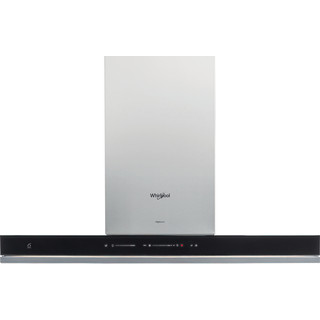 Whirlpool HOOD Built-in WHSS 90F TS K Black Wall-mounted Electronic Frontal