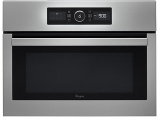 Whirlpool built in microwave oven: stainless steel color - AMW 505/IX