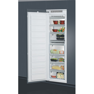 Whirlpool integrated upright freezer: in White - AFB 18431