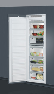 Whirlpool integrated upright freezer: white color - AFB 1841F A+ EX