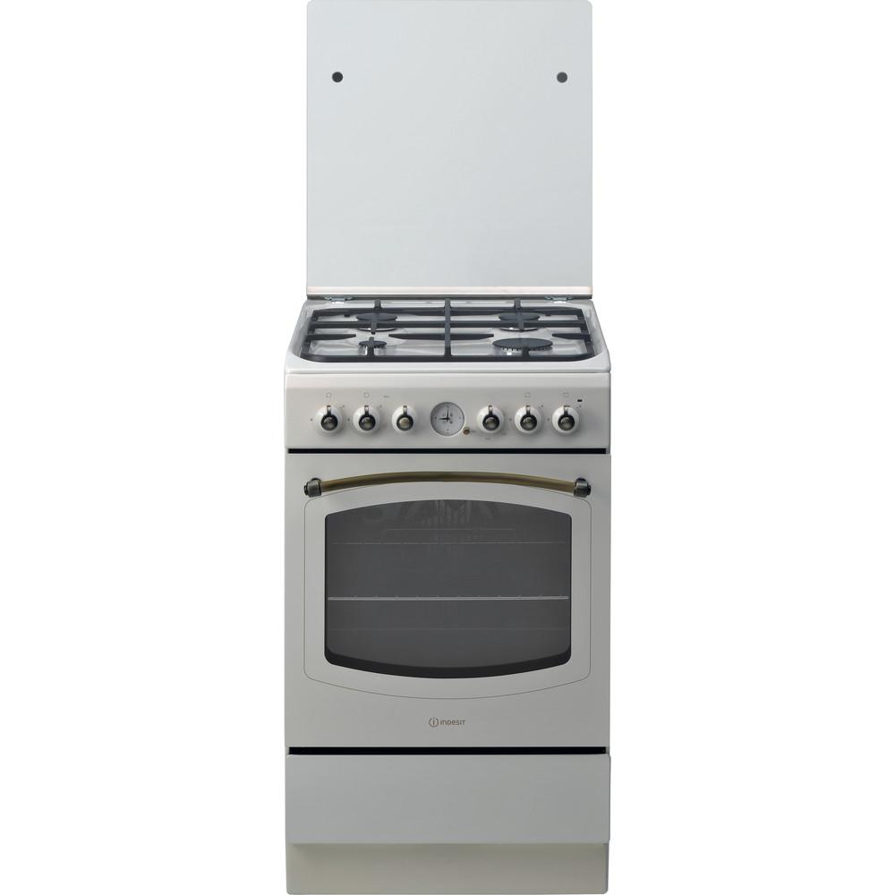 Indesit Cucina con forno a doppia cavità IS5G1MMJ/E Jasmine GAS Frontal