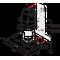 Whirlpool vegghengt kjøkkenventilator - AKR 558/3 IX