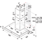 Campana decorativa Whirlpool AKR 558/3 IX con 3 velocidades de 60cm