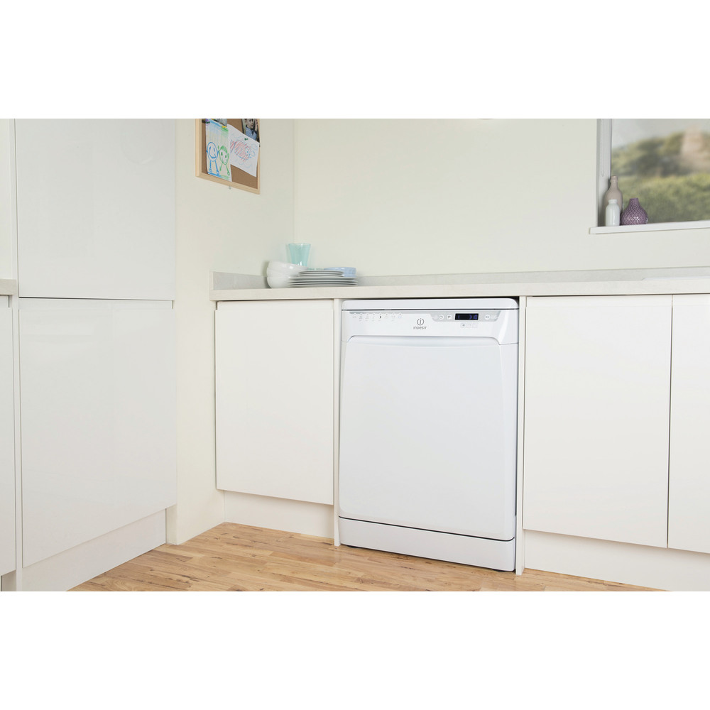 Indesit Dishwasher Free-standing DFP 58T96 Z UK Free-standing A Lifestyle perspective