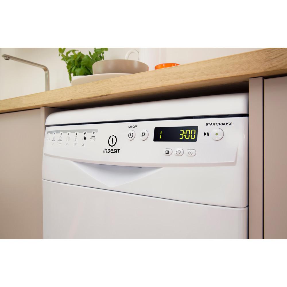 Indesit Посудомоечная машина Отдельно стоящий DSR 57M19 A EU Отдельно стоящий A Lifestyle control panel