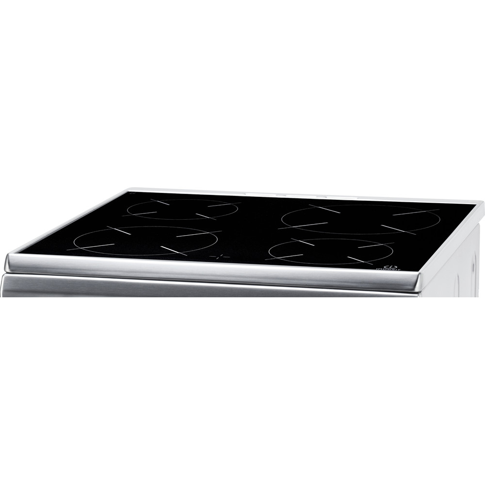 Indesit Cuisinière I6VMH2A(X)/NL Inox Non Heating element