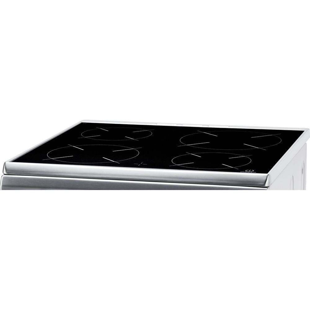 Indesit Cuisinière I6VMH2A(X)/NL Inox Non Heating element