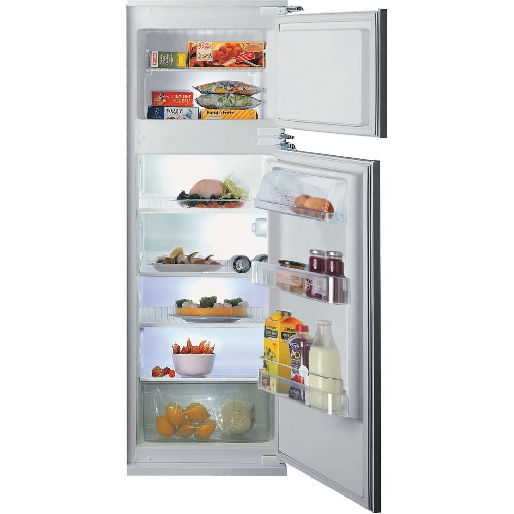 Hotpoint_Ariston Combinazione Frigorifero/Congelatore Da incasso BD 2422/HA 1 Acciaio 2 porte Frontal open